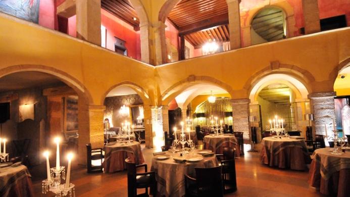 View of La Cour Des Loges Hotel Lyon - Muslim Friendly Travel in Lyon
