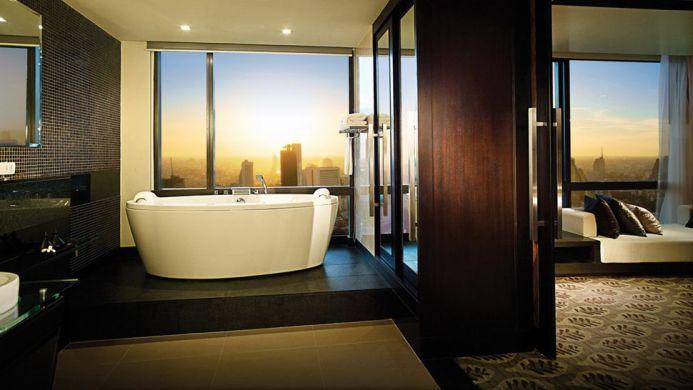 View of Banyan Tree Hotel Bangkok - Muslim Friendly Travel in Bangkok
