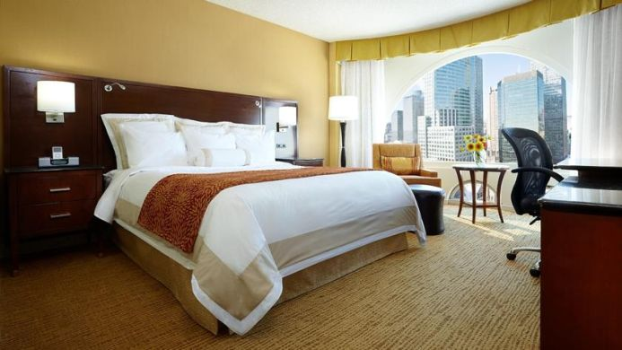 View of Marriott Chateau Champlain Hotel Montreal - Muslim Friendly Travel in Montreal, QC