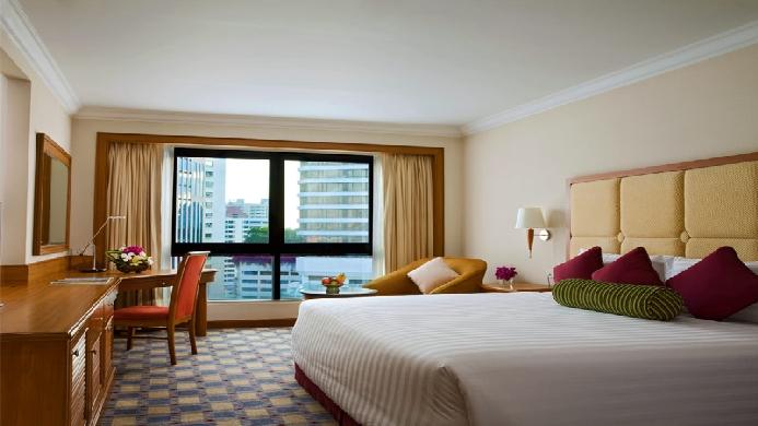 View of Amari Watergate Hotel Bangkok - Muslim Friendly Travel in Bangkok
