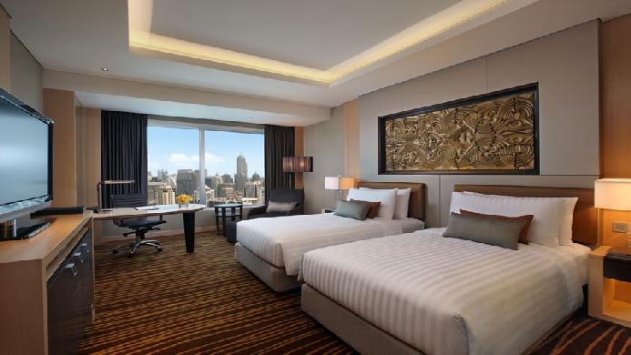 View of Ambassador Hotel Bangkok - Muslim Friendly Travel in Bangkok