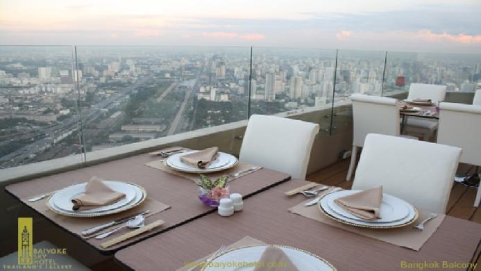 View of Bangkok Palace Hotel - Muslim Friendly Travel in Bangkok