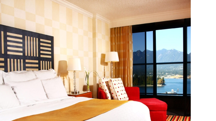 View of Renaissance Hotel Vancouver - Muslim Friendly Travel in Vancouver