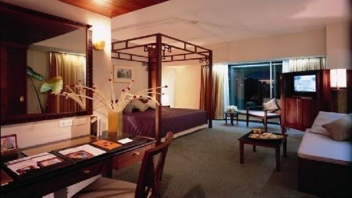 View of Indra Regent Hotel Bangkok - Muslim Friendly Travel in Bangkok