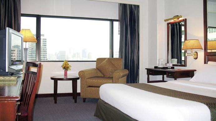 View of Arnoma Hotel Bangkok - Muslim Friendly Travel in Bangkok