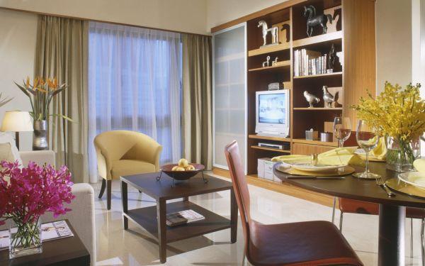 View of Somerset Bencoolen Singapore Apartment - Muslim Friendly Travel in Singapore