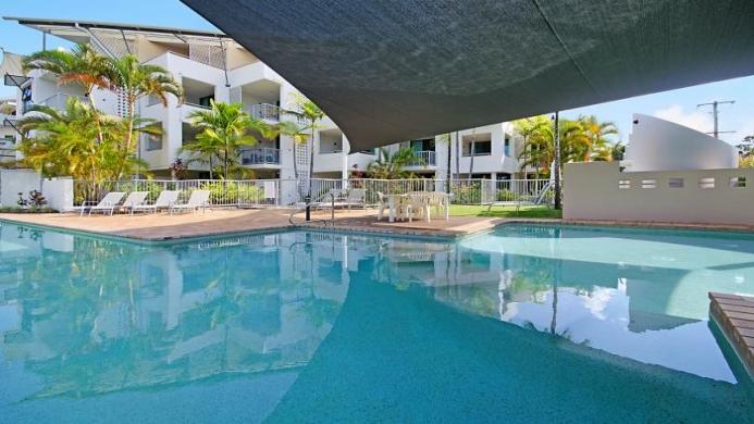 View of Caribbean Resort Mooloolaba - Muslim Friendly Travel in Sunshine Coast