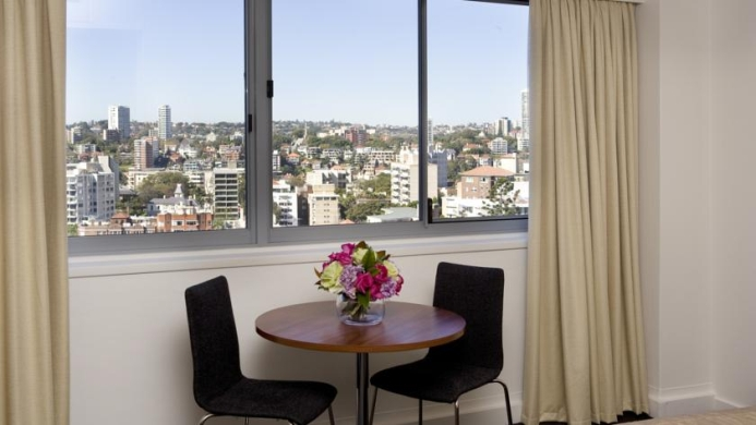 View of Macleay Serviced Apartment Hotel Sydney - Muslim Friendly Travel in Sydney