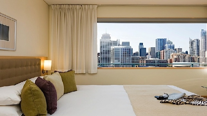 View of Novotel Sydney On Darling Harbour Hotel - Muslim Friendly Travel in Sydney