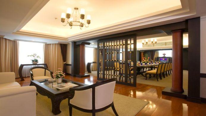 View of Chaophya Park Hotel Bangkok - Muslim Friendly Travel in Bangkok