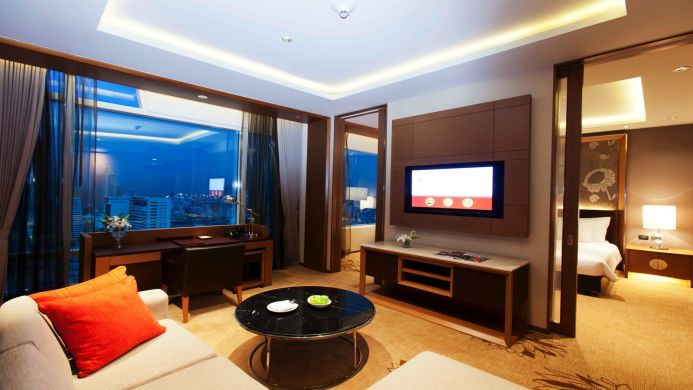 View of Eastin Hotel Makkasan Bangkok - Muslim Friendly Travel in Bangkok