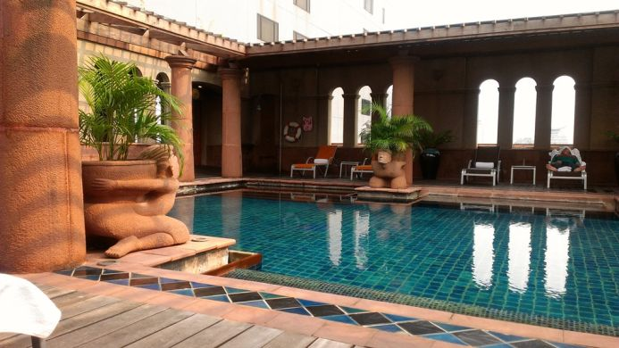 View of Forum Park Hotel Bangkok - Muslim Friendly Travel in Bangkok