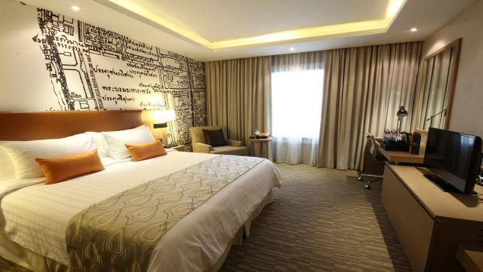 View of Grand Mercure Fortune Hotel Bangkok - Muslim Friendly Travel in Bangkok