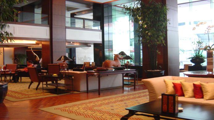 View of JW Marriott Hotel Bangkok - Muslim Friendly Travel in Bangkok