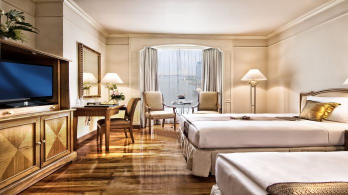 View of Montien Riverside Hotel Bangkok - Muslim Friendly Travel in Bangkok
