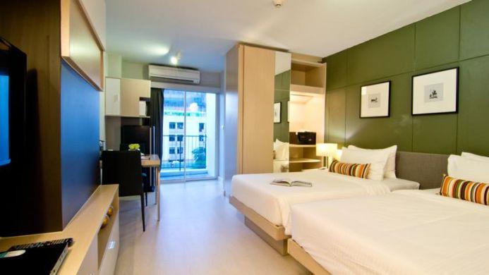 View of Pinnacle Lumpinee Park Hotel - Muslim Friendly Travel in Bangkok