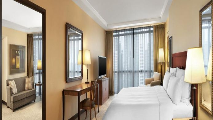 View of Plaza Athenee Bangkok A Royal Meridien Hotel - Muslim Friendly Travel in Bangkok