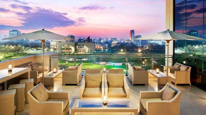 View of The Royal City Hotel Bangkok - Muslim Friendly Travel in Bangkok