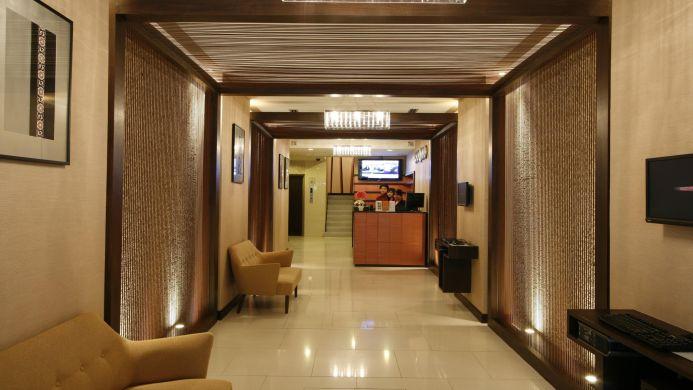 View of Silom Serene Hotel Bangkok - Muslim Friendly Travel in Bangkok