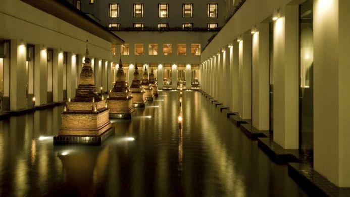 View of Sukhothai Hotel Bangkok - Muslim Friendly Travel in Bangkok