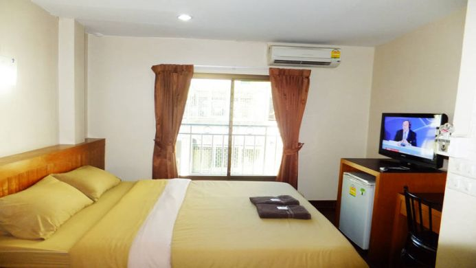 View of White Orchid Hotel Bangkok - Muslim Friendly Travel in Bangkok