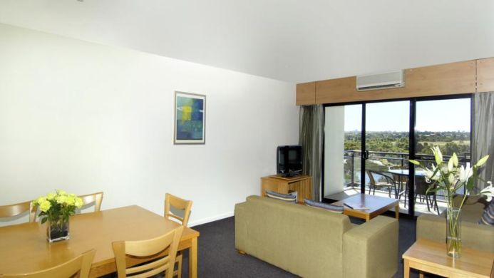 View of Assured Ascot Quays Apartment Hotel Perth - Muslim Friendly Travel in Perth