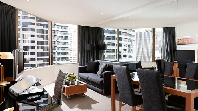 View of Quay West Suites Sydney Hotel - Muslim Friendly Travel in Sydney