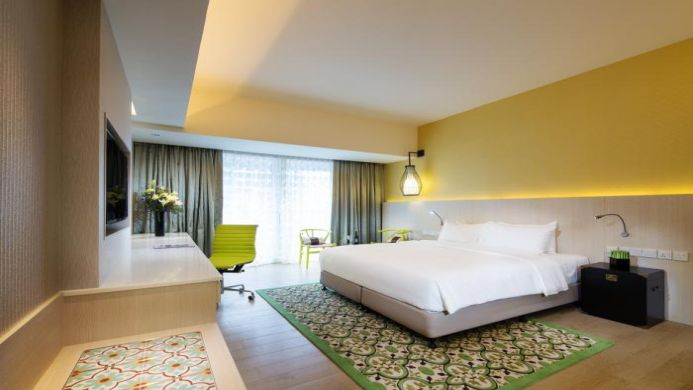 View of Village Hotel Katong By Far East Hospitality Singapore - Muslim Friendly Travel in Singapore